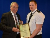 Nantwich special constable honoured at awards ceremony