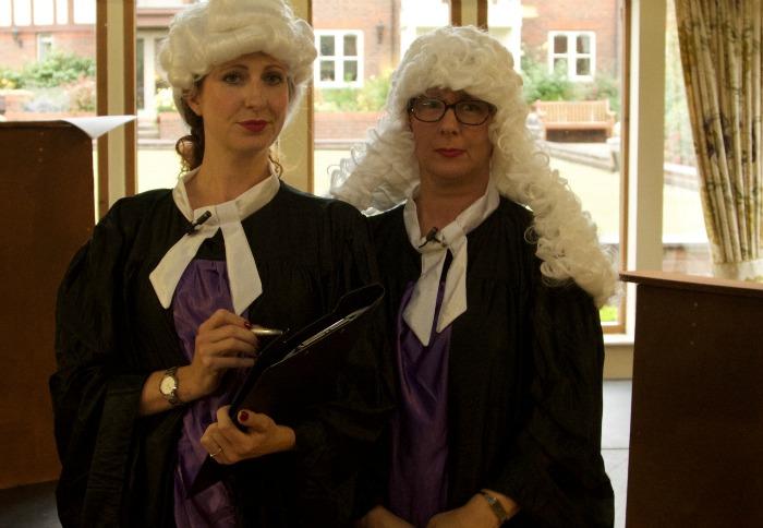 judges at richmond village long service awards