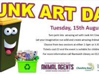 Youngsters invited to Junk Art Day at Nantwich Library