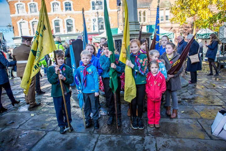 Armistice centenary in Nantwich 15