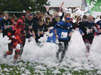KAPOW! Superhero challenge raises thousands for St Luke's Hospice