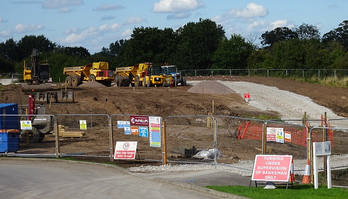 Kingsbourne - air quality data - kingsley fields construction site in nantwich, august 2017