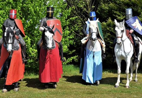 Britain's top Medieval knights to descend on Beeston Castle