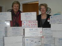 Inner Wheel Club Crewe members join Rotary Shoebox Scheme