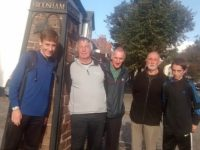 Wistaston Tennis Club completes fund-raising Sandstone Trail walk