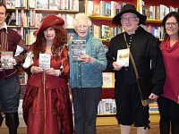 Holly Holy Day author event in Nantwich hailed big success