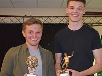 Dabbers players honoured at Nantwich Town end of season awards