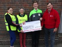 South Cheshire teen's charity match raises funds for Bloodwise