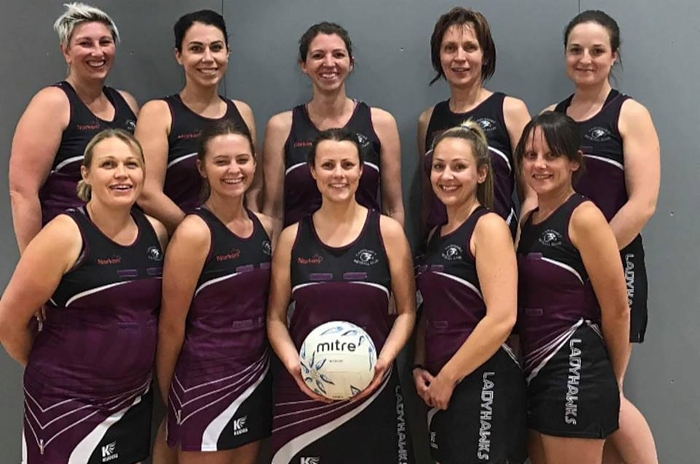 ladyhawks netball Team G finishing 2 in Premiership