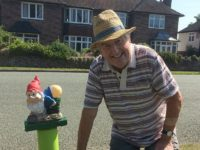 Village gardener's cheeky gnomes cause rumpus in Wistaston