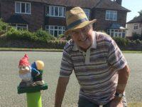 Village gardener's cheeky gnomes cause rumpus in Wistaston