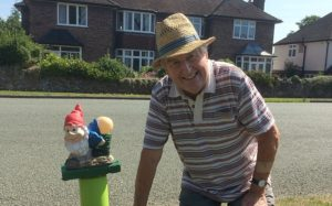laurence perry and the offensive gnomes in wistaston