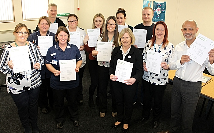 mental health - leighton hospital first aider scheme