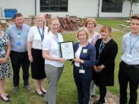 Leighton Hospital staff earn national health and safety award