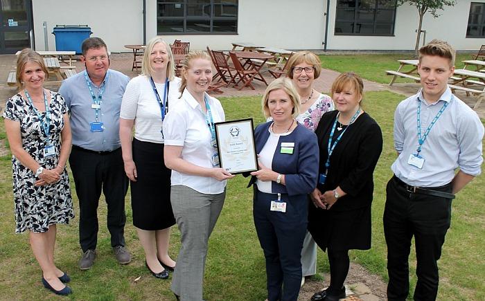 leighton hospital health and safety award 1