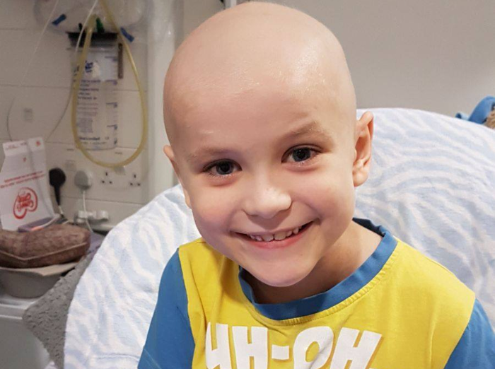 lewis crossley, fighting leukaemia