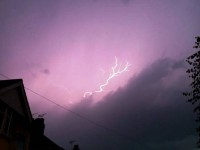 Photos capture lightning storm over Crewe and Nantwich