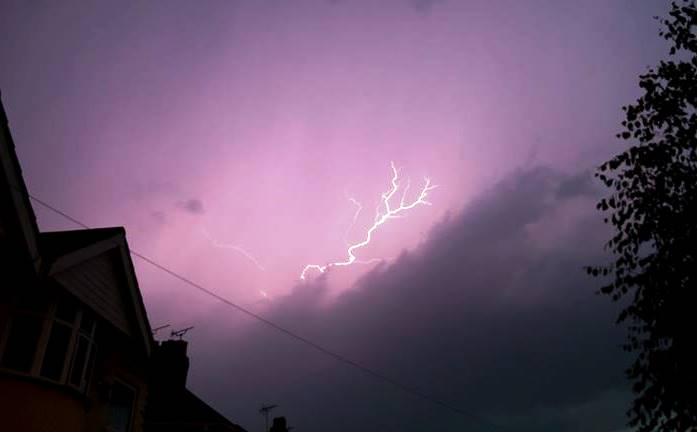 lightning pic by Helen Williams Photography