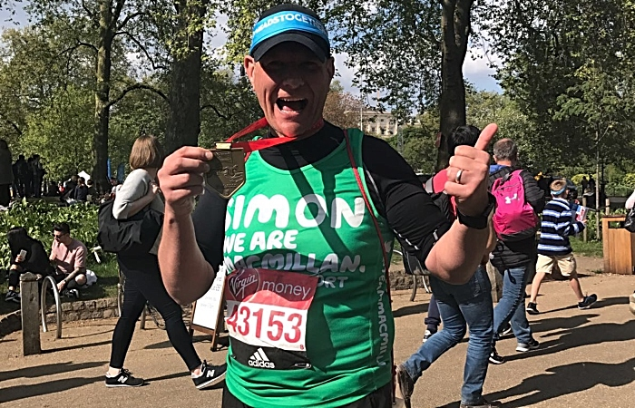 london marathon april 2017 - Simon Richardson