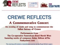 First World War Cheshire East concert set for Lyceum