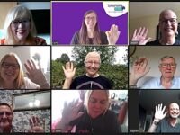Lymphoma Action online support group meetings in Cheshire