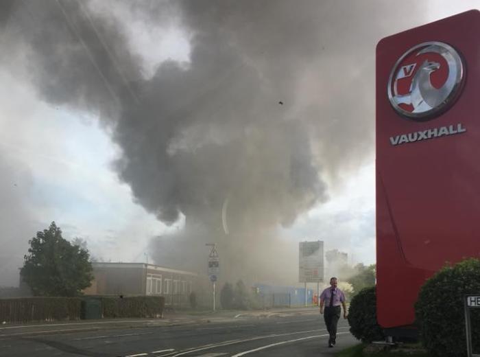macon way blaze, pic by dale broadfield