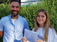 Pupils at Malbank in Nantwich celebrate GCSE results success