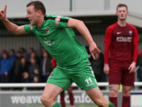 Nantwich Town produce FA Cup upset by toppling Nuneaton Town 3-1