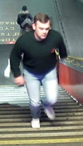 man on cctv after doctor attacked railway station