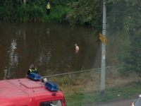 Man rescued by fire crews from River Weaver in Nantwich