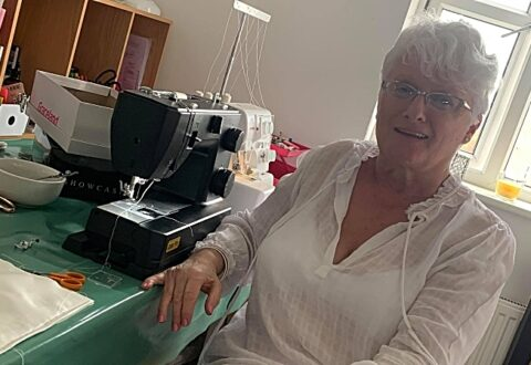 South Cheshire woman's amazing gifts for grieving UK families