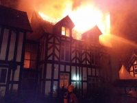 19th century mansion near Nantwich badly damaged in fire