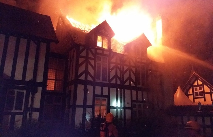 mansion fire in tilstone fearnall 2