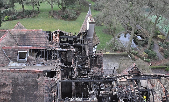 mansion fire in tilstone fearnall 3