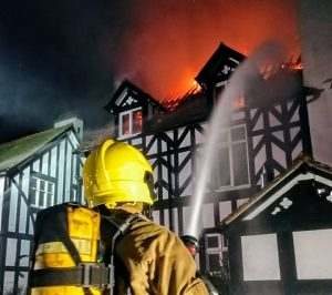 mansion fire in tilstone fearnall