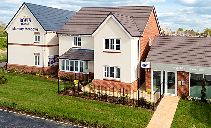 marbury meadows in Wrenbury - Bovis Homes
