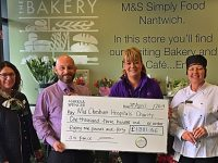 Marks and Spencer Nantwich raises £1,300 for dementia appeal