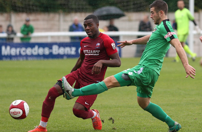 matt bell challenges for nantwich v nuneaton