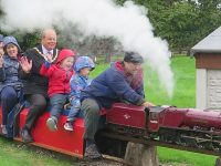Nantwich Mayor joins 50th anniversary of South Cheshire Model Engineering Society
