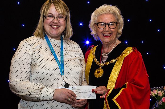 mayor's charity cheque 1