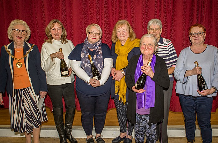 mayor's Quiz winners