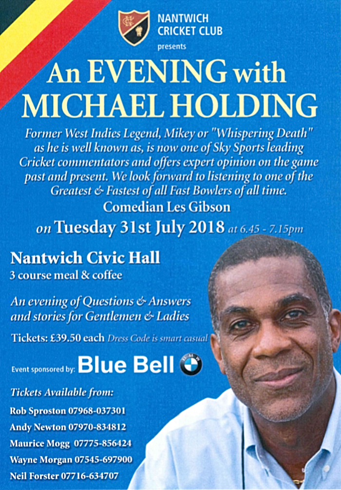 michael holding event