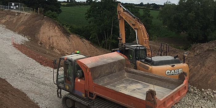middlewich branch repairs of shropshire union canal
