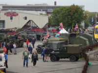 Wheels of War military vehicle show pulls in the crowds