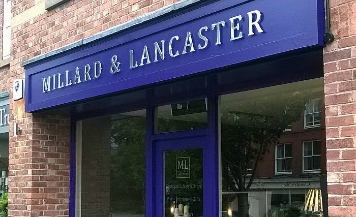 millard and lancaster store in tarporley