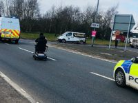 Mobility scooter needed police escort after A500 wrong turn in Nantwich