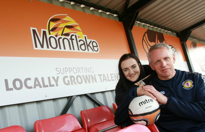 mornflake backs The Alex Soccer Centre