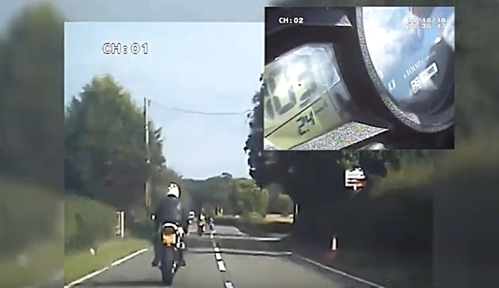 motorcyclists caught doing 137mph in Cheshire