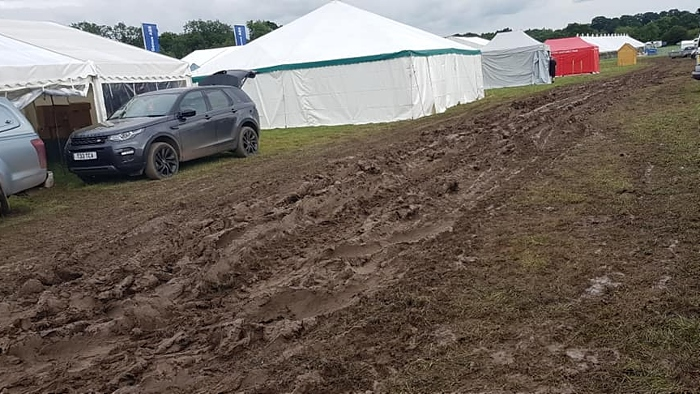 mud bath - nantwich show cancelled