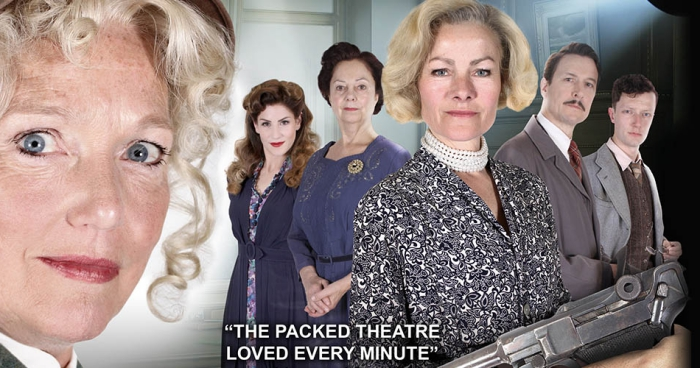 murder is announced by agatha christie - crewe lyceum